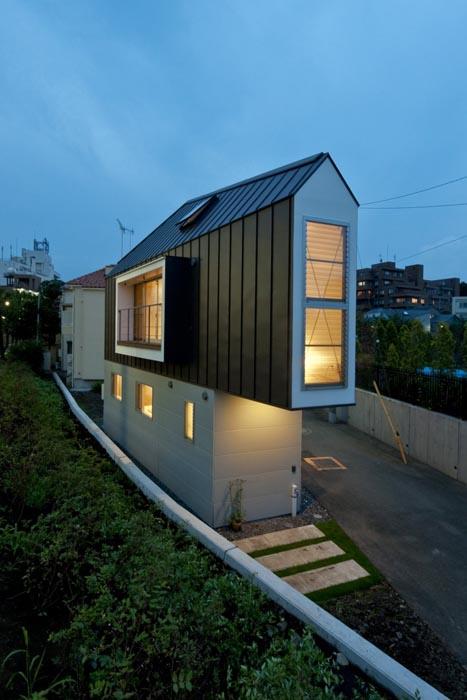 Bygga hus på liten yta (bilder)