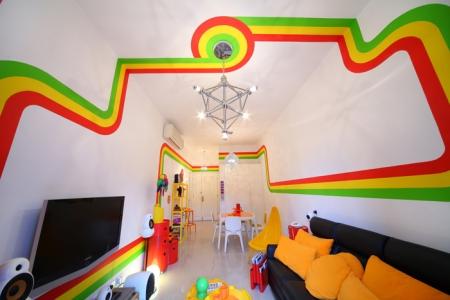 Inspirerande inredning: Regnbågsrummen