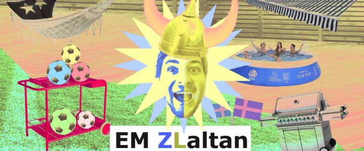 Din egen EM läktare. Vi kallar den Zlaltan.