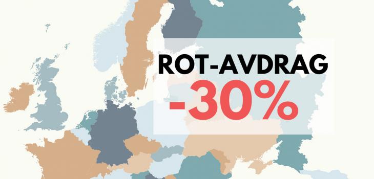 ROT utomlands, rotavdrag EU EES