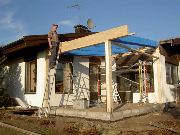 Gör-det-själv: Trist altan blev fint uterum > Byggmentor.se