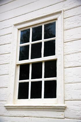 Måla om fönstren