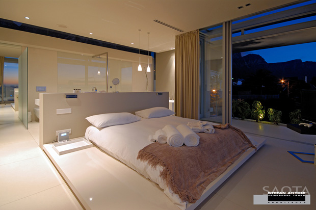 Sovrummet är öppet