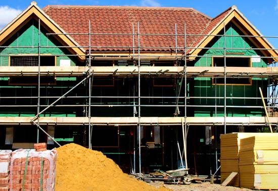 Rätt försäkring när du ska bygga hus, bygga till eller renovera