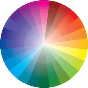 Färghjulet hjälper dig hitta färgschemat