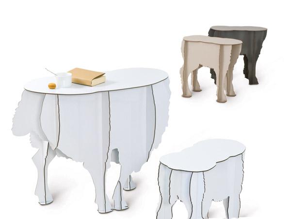 Möblerna ser ut att kunna rymma