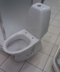 badrum toalettstol renovering