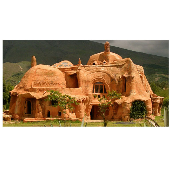 Det fantastiska lerhuset – se bilderna här