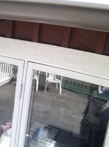 Träfönster, villa, fönster