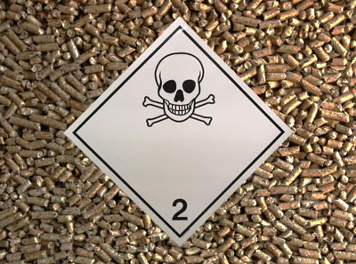 Pelletshotet – fel förvaring av pellets kan vara livsfarligt