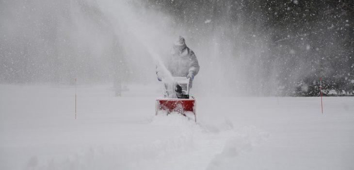 Snöslunga hjälper på vintern