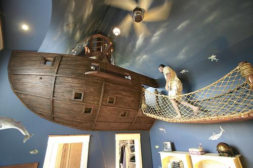 Gångbro till skeppet